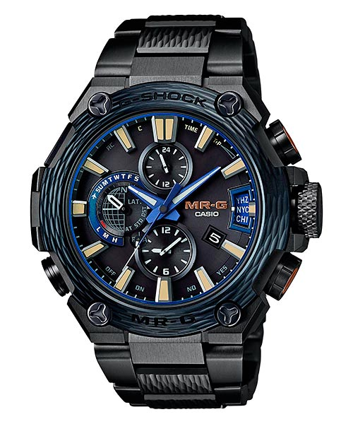 How to set alarm on G-Shock MRG-G2000 / Casio 5531