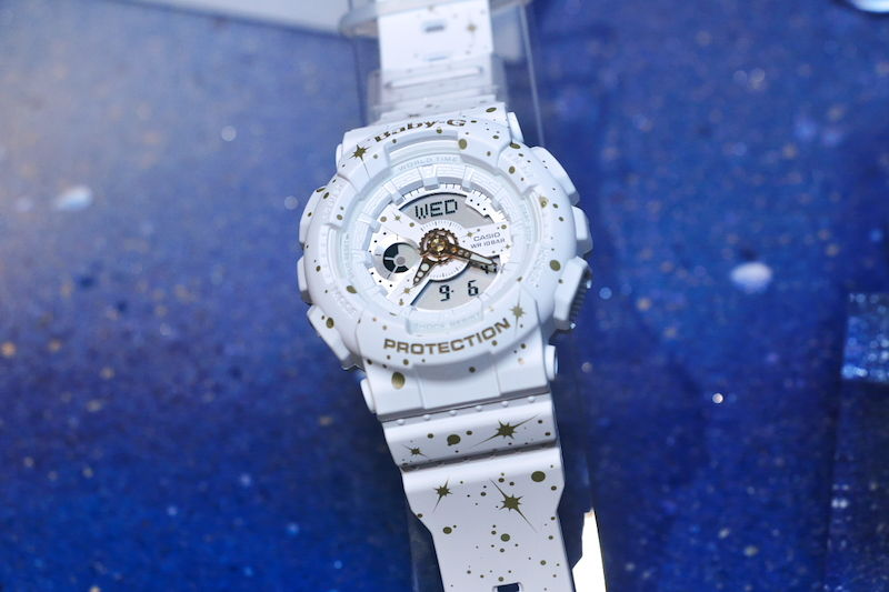 [Live Photos] Baby-G BA-110ST Starry Sky Series