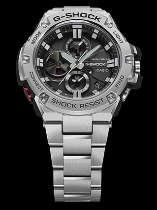 [Official] First G-Shock GST-B100 Connected Watch for Men's G-Steel Line