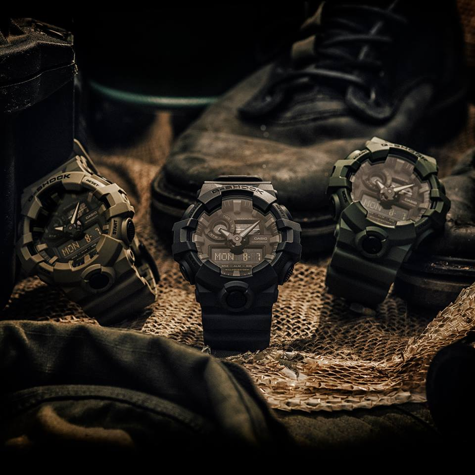 [Live Photos] G-Shock GA-700UC — Strength in numbers