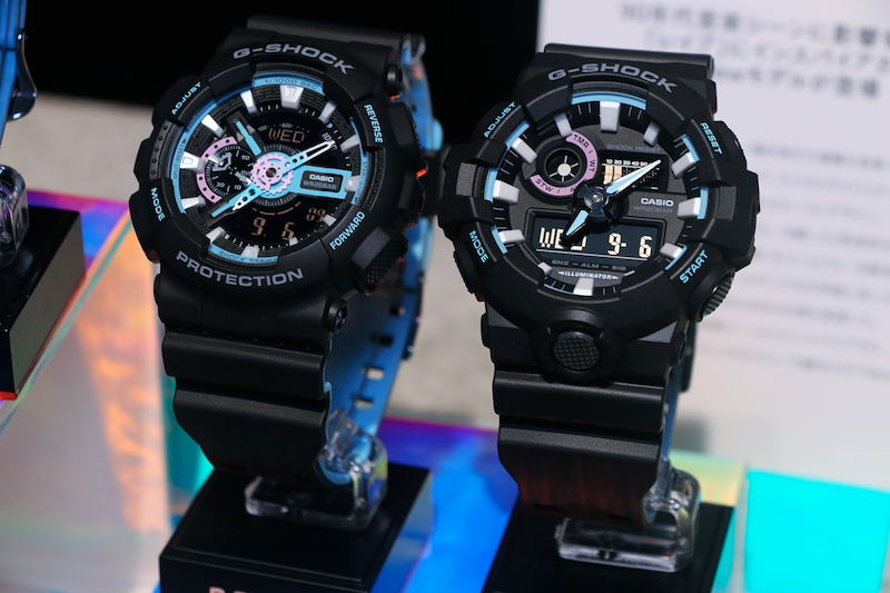 [Live Photos] G-Shock GAW-100, GW-M5610 and others in Neon accent color