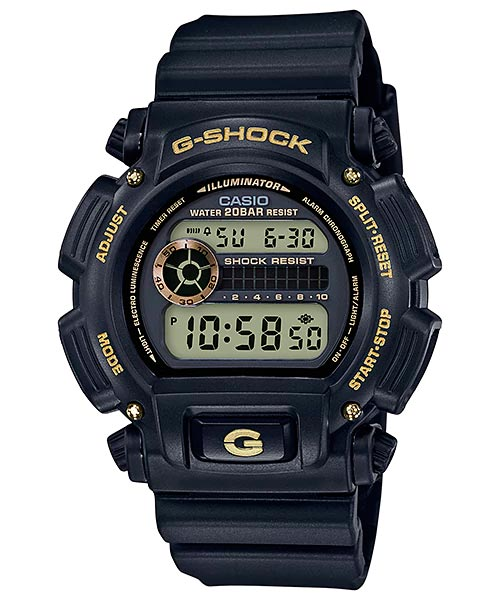 [October 2017] G-Shock DW-9052GBX-1A4 and DW-9052GBX-1A9 Black and Gold