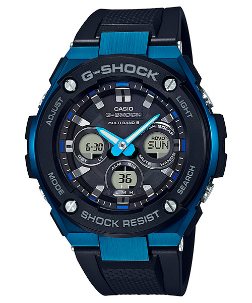 How to set time on G-Shock GST-W300 / Casio 5524