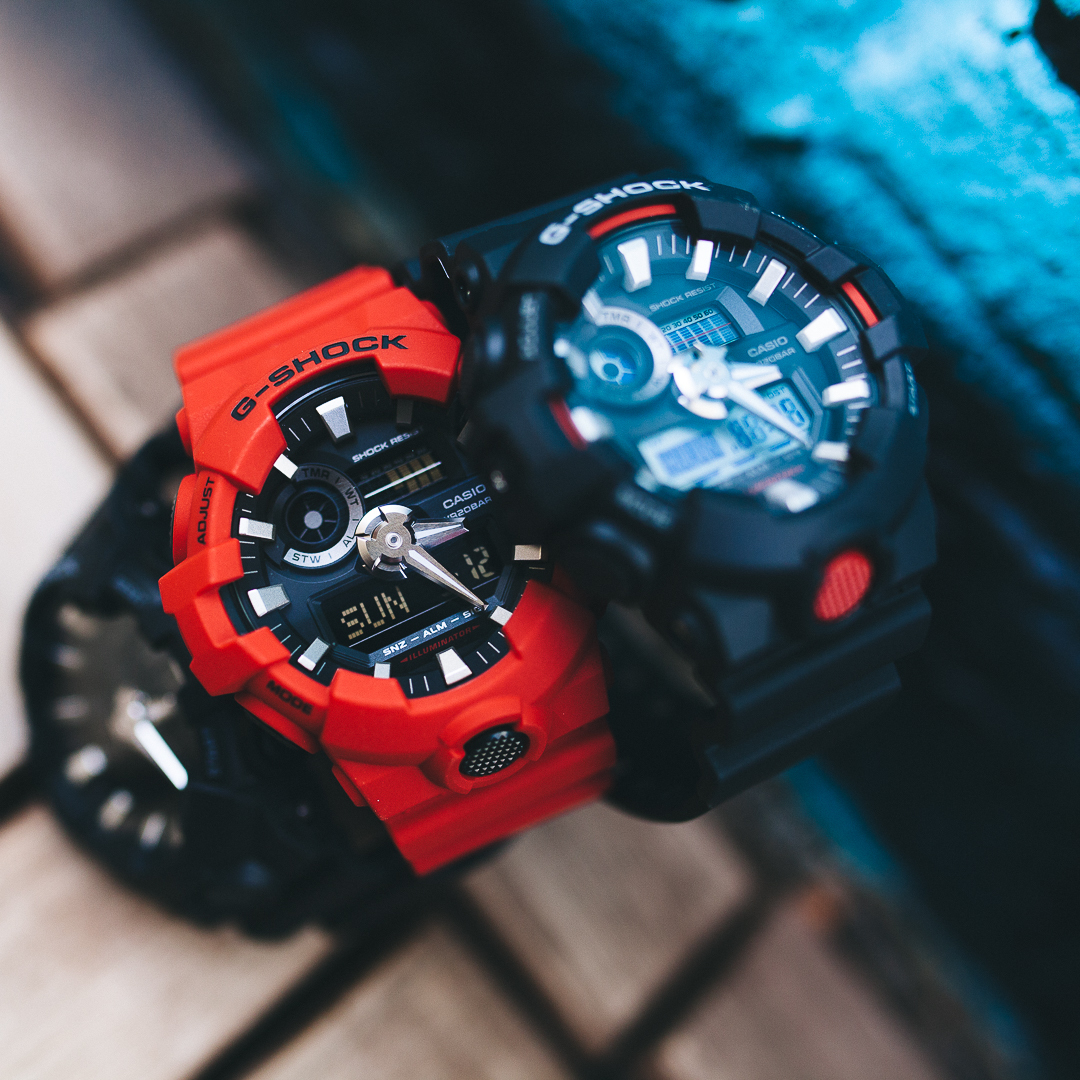 [Live Photos] G-Shock GA-700 with Updated Design