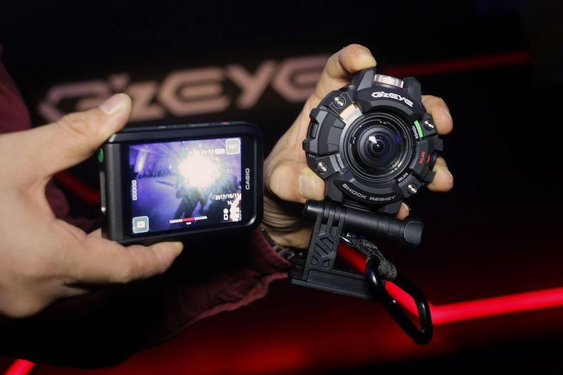 [Live Photos] G'z EYE GZE-1 — Casio Toughness Camera