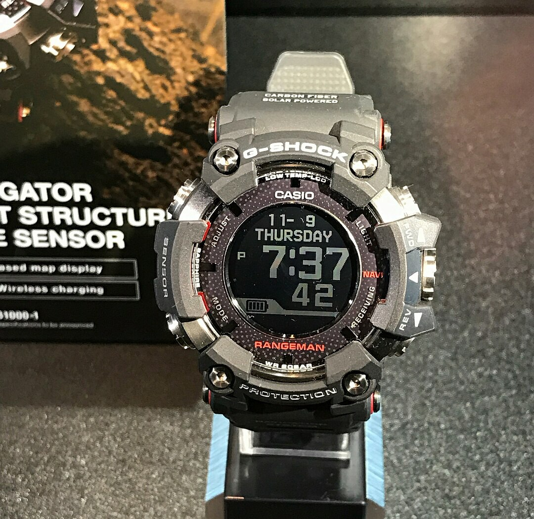 [Live Photos] G-Shock Rangeman GPR-B1000-1 with GPS and and Low-Temp LCD