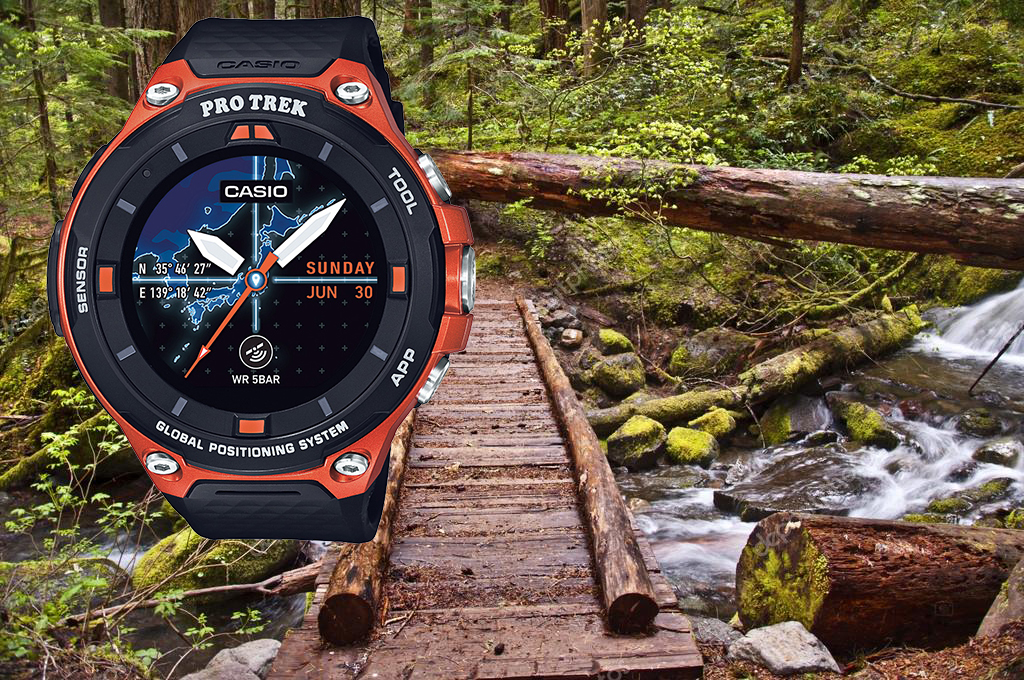 [Smartwatch] ProTrek WSD-F20RG and picking the right hicking boots