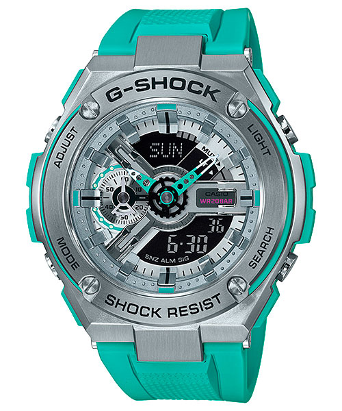"""[Live Photos] G-Shock GST-410 — G-Steel inspired by """"Boogie-Woogie"""""""