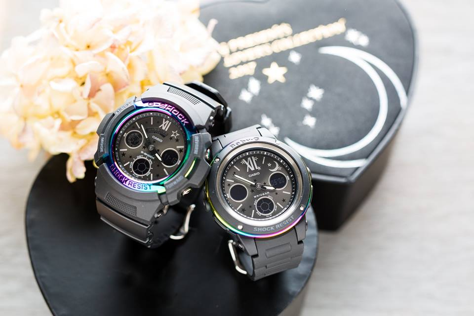 [Live Photos] G-Shock and Baby-G LOV-17B-1A Lovers Collection