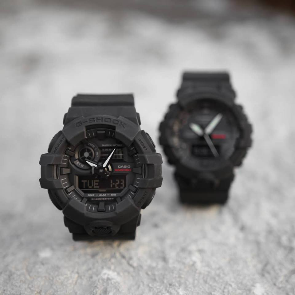 [Live Photos] G-Shock 35th Anniversary — first black wave