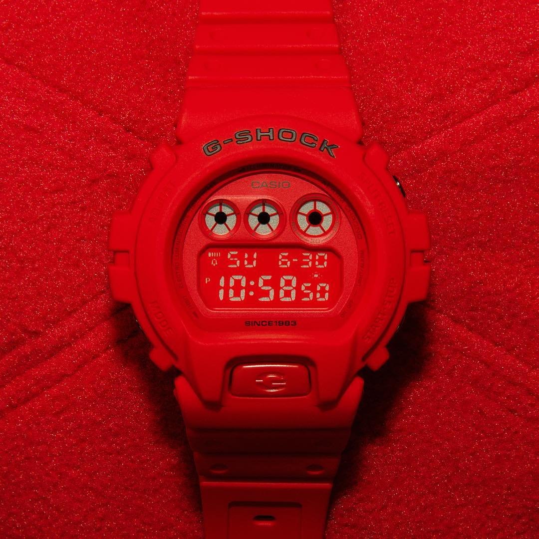[Live Photos] G-Shock DW-6935C-4 fron red Out Collection