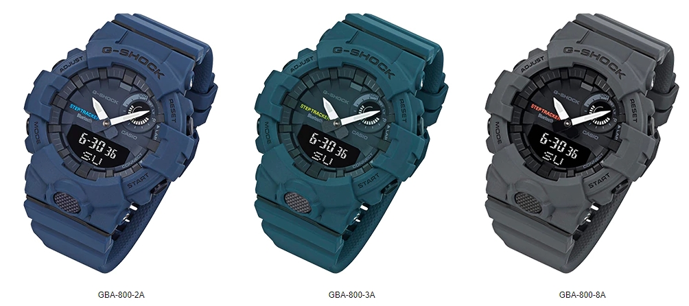 [Official] G-Shock GBA-800 with App Connectivity for Step Tracking and Workouts