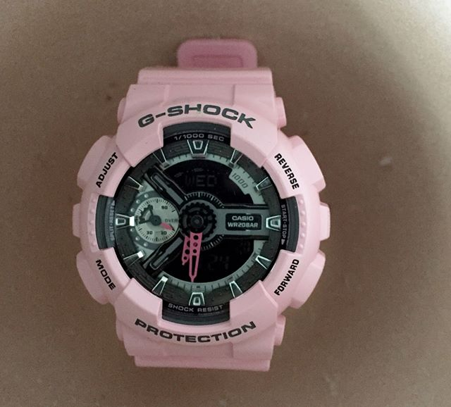 [Live Photos] G-Shock GMA-S110MP-4A2 Women's S Series Watch