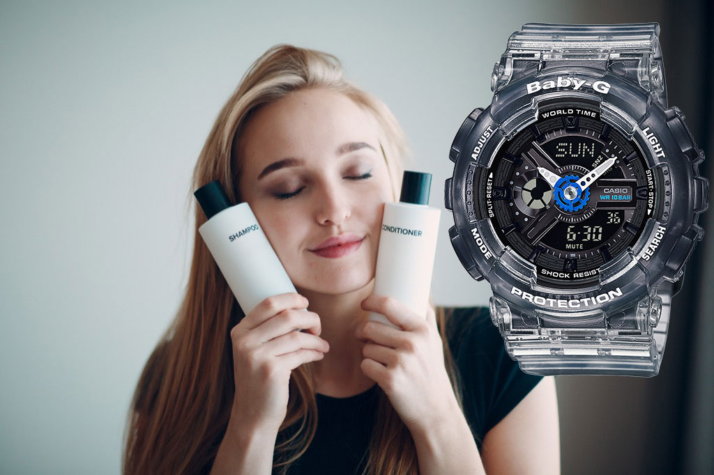 [Live Photos] Wash Your Hair This Frequently and BA-110JM-1A
