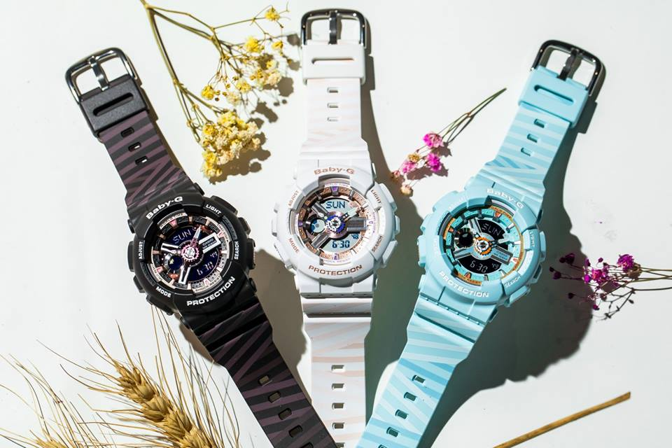 [Live Photos] Baby-G BA-110CH with PUNTO It Design