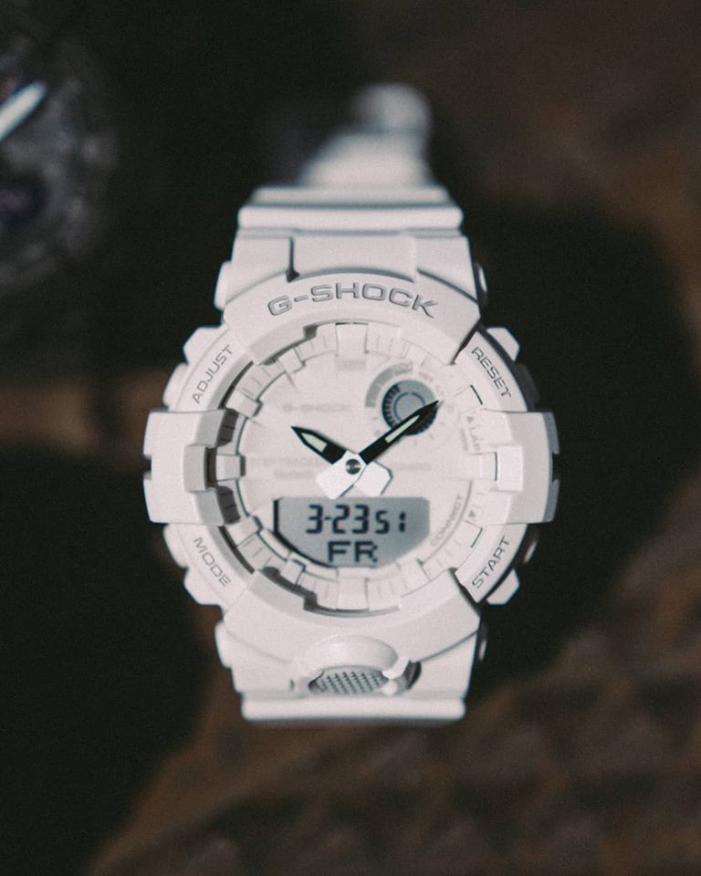 [Live Photos] G-Shock GBA-800 with Step Tracker and Bluetooth