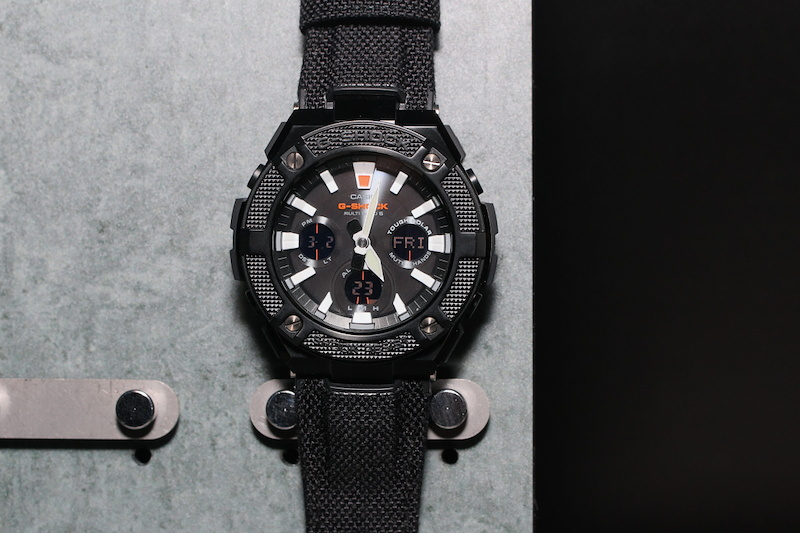 [Live Photos] G-Shock GST-W130BC, GST-W130C and GST-W 330C-1A — Military G-Steel