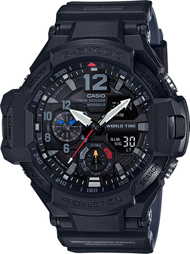 [Official] G-Shock GA-1100-1A1 — New Color Addition to Men's Gravitymaster Series