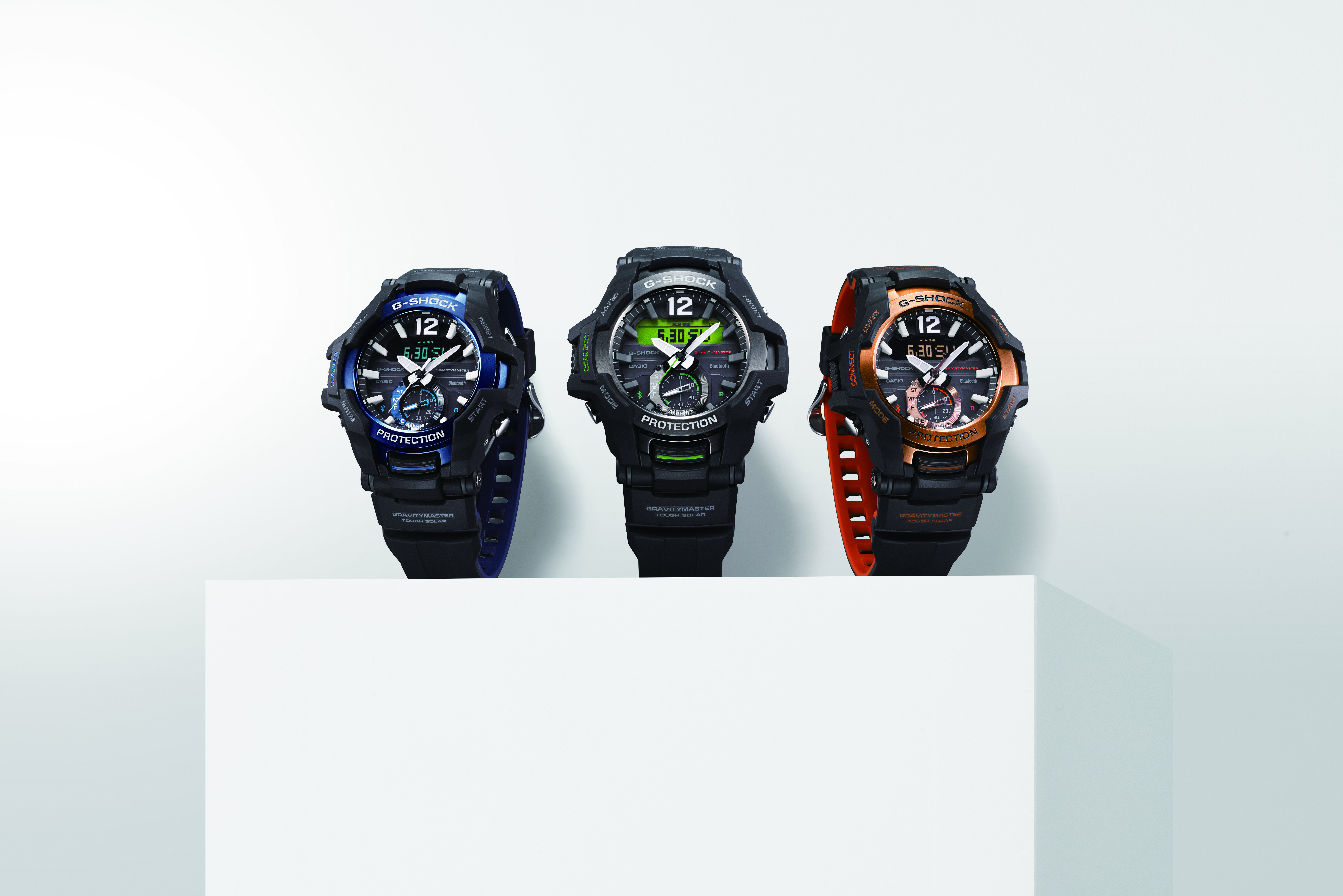 [Official] G-Shock GR-B100 — Latest Connected Gravitymaster at Baselworld 2018