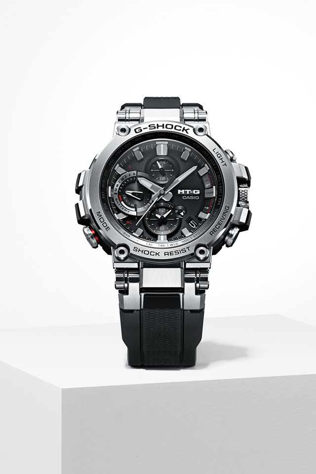 [Official] G-Shock MTG-B1000 — First-Ever Connected MT-G Timepiece at Baselworld