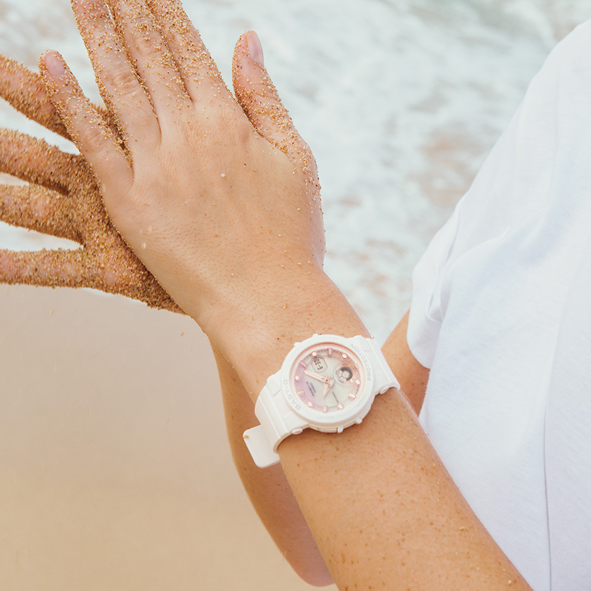[Live Photos] Baby-G BGA-250 and story: country island