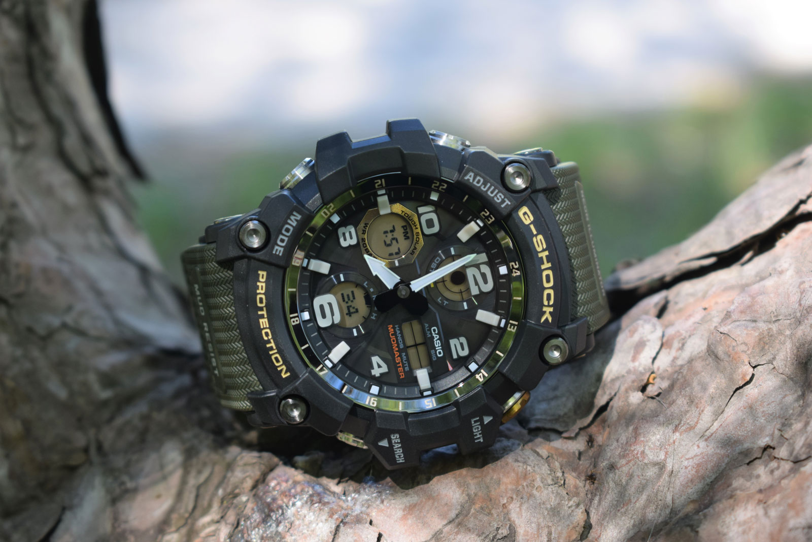 [Live Photos] G-Shock GWG-100-1A3 — work on mistakes