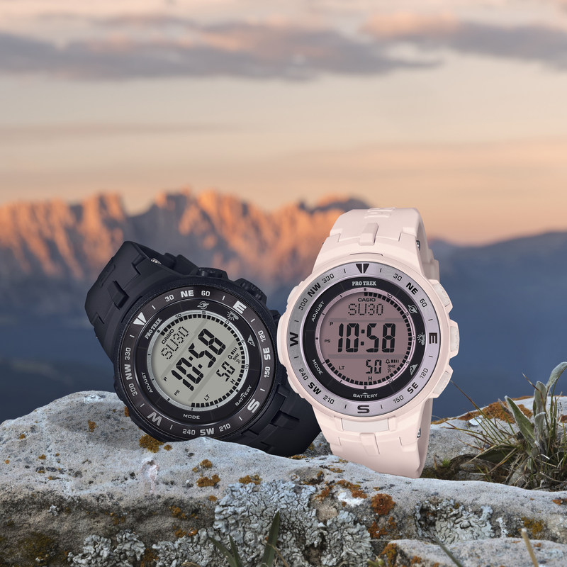 [Official] Casio Reveals New Pro Trek PRG-330 Timepiece for Summer