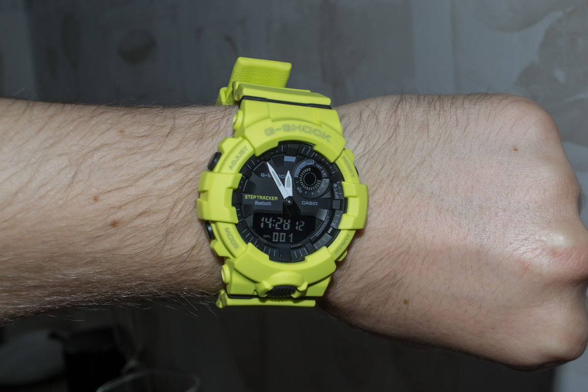 [Live Photos] G-Shock GBA-800-9A — ideal for interval trainings