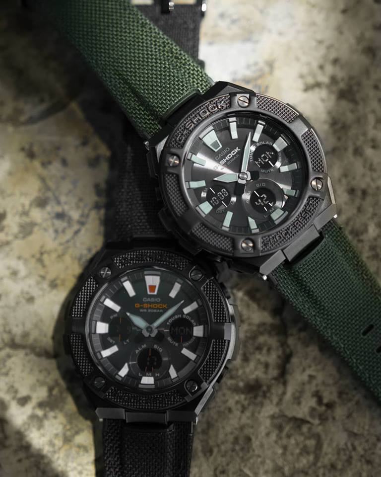 G Shock Gst W130bc With Cordura Fabric Band