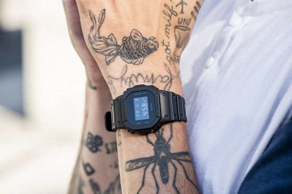 [Live Photos] Matthias Dandois and his G-Shock DW-5600BB-1E