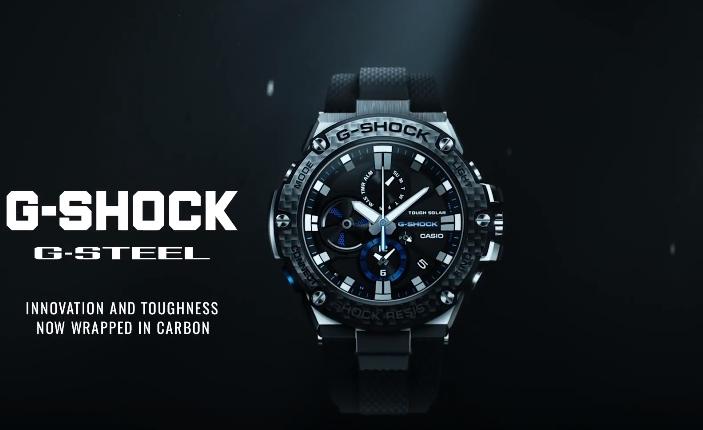 [Video] G-Shock G-Steel GST-B100XA-1A with Carbon Bezel