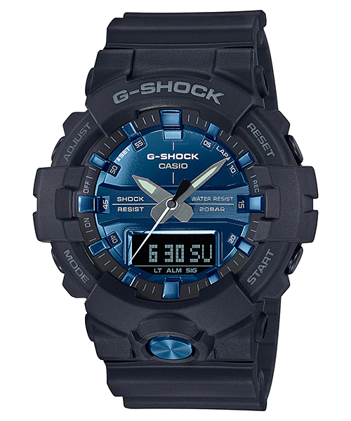 [August 2018] G-Shock silver GA-810MMA-1A and blue GA-810MMB-1A2