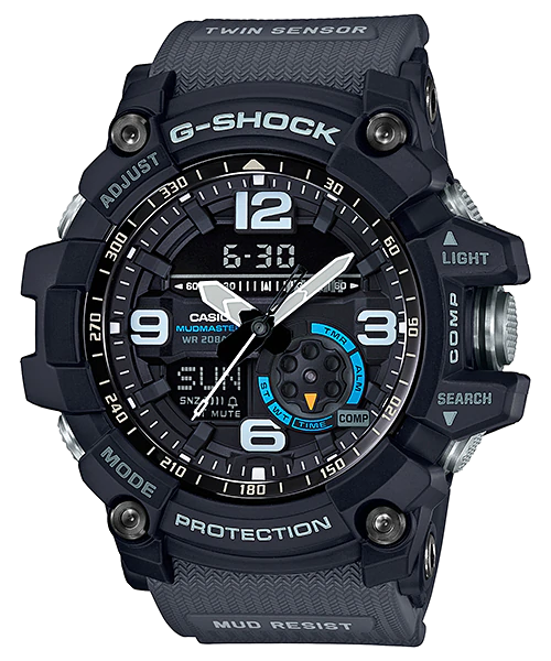 [August 2018] G-Shock GG-1000-1A8 with blue accents