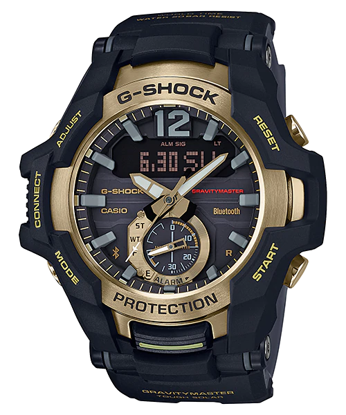 [August 2018] G-Shock black and gold GR-B100GB-1A