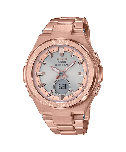 [August 2018] Baby-G gray MSG-S200D-7A and pink gold MSG-S200DG-4A