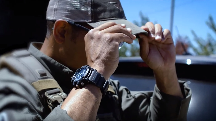 [Video] Featuring the G-Shock GG-1000-1A8 with blue accents