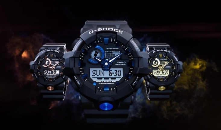 [Video] G-Shock GA-710 Promo Movie