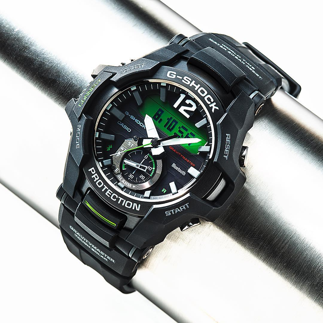 [Live Photos] G-Shock GR-B100-1A3 with Bluetooth and tactical timer