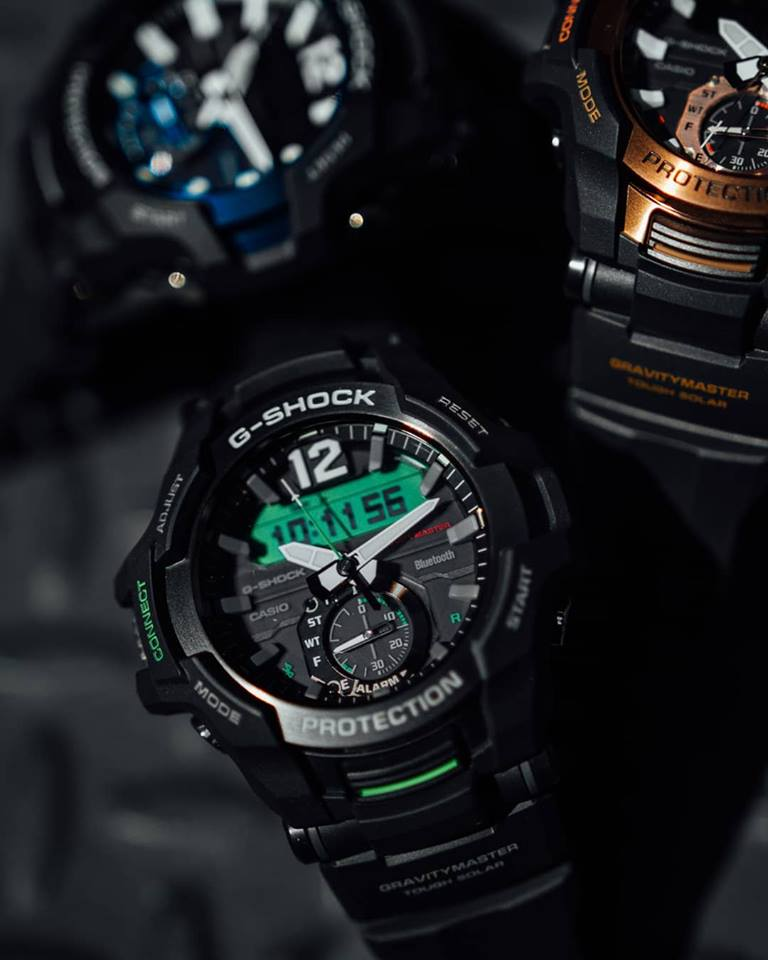 [Live Photos] G-Shock GR-B100 — latest addition to the men's GRAVITYMASTER