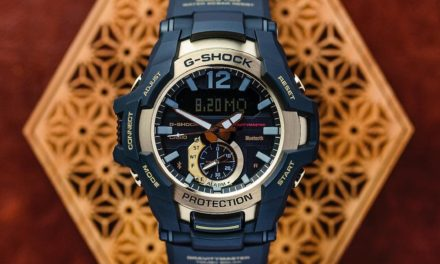 [Live Photos] G-Shock GR-B100GB-1A from Black and Gold Series