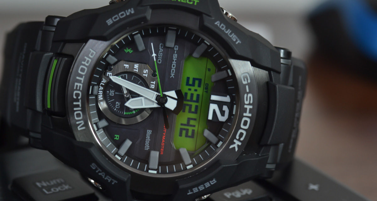 [G-Shock Review] GR-B100-1A3 – a new generation of aviators with route logging
