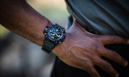 [Live Photos] G-Shock GG-1000-1A8 — deep into the dirt and sludge