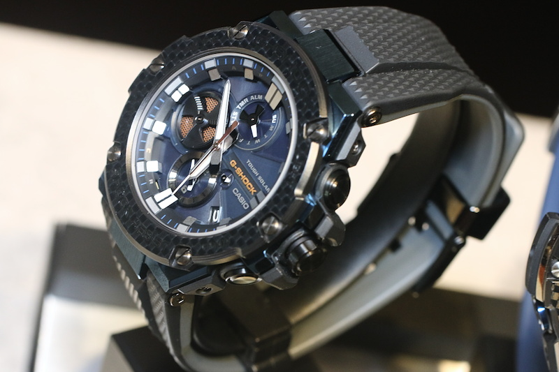 [Live Photos] G-Shock GST-B100XB and GST-B100G — New Colors of G-Steel