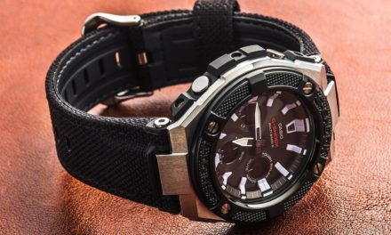 [Live Photos] G-Shock GST-W330AC-1A with steel forged bezel
