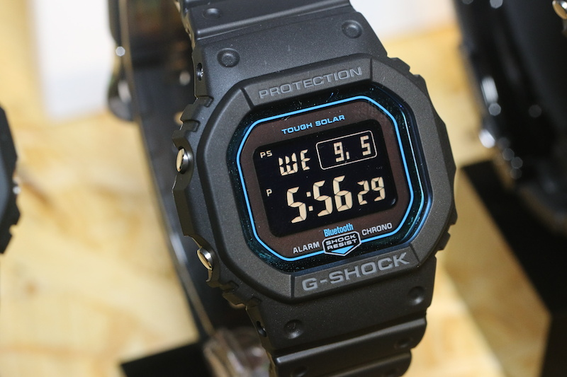 [Live Photos] G-Shock GW-B5600 with Tough Solar and Multiband