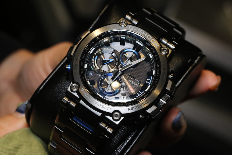 [Live Photos] G-Shock MTG-B1000D and MTG-B1000BD with Composite Band
