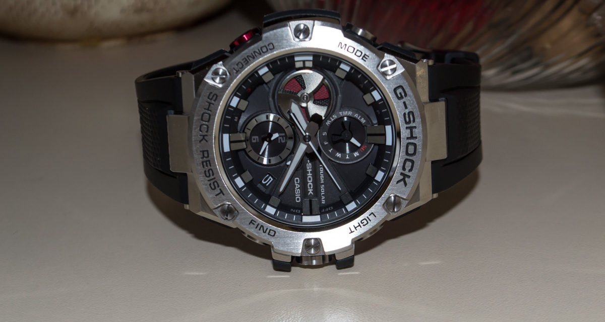 [G-Shock Review] GST-B100-1AER — Metal and Japanese Futurism