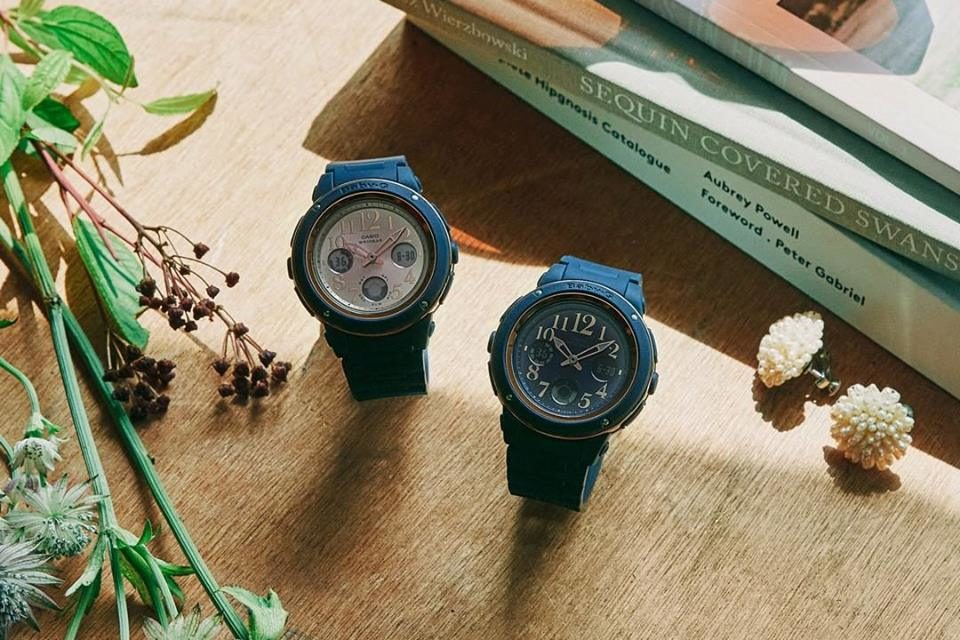 [Live Photos] Baby-G BGA-150PG emulate wood with antique styling