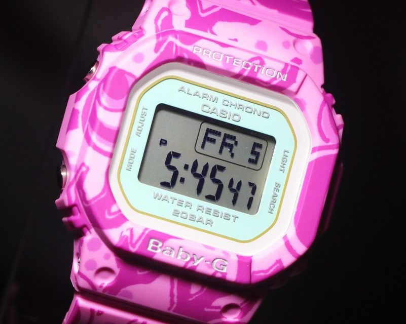 [Live Photos] Baby-G BGD-560SLG-4 and Benzaiten — The water God