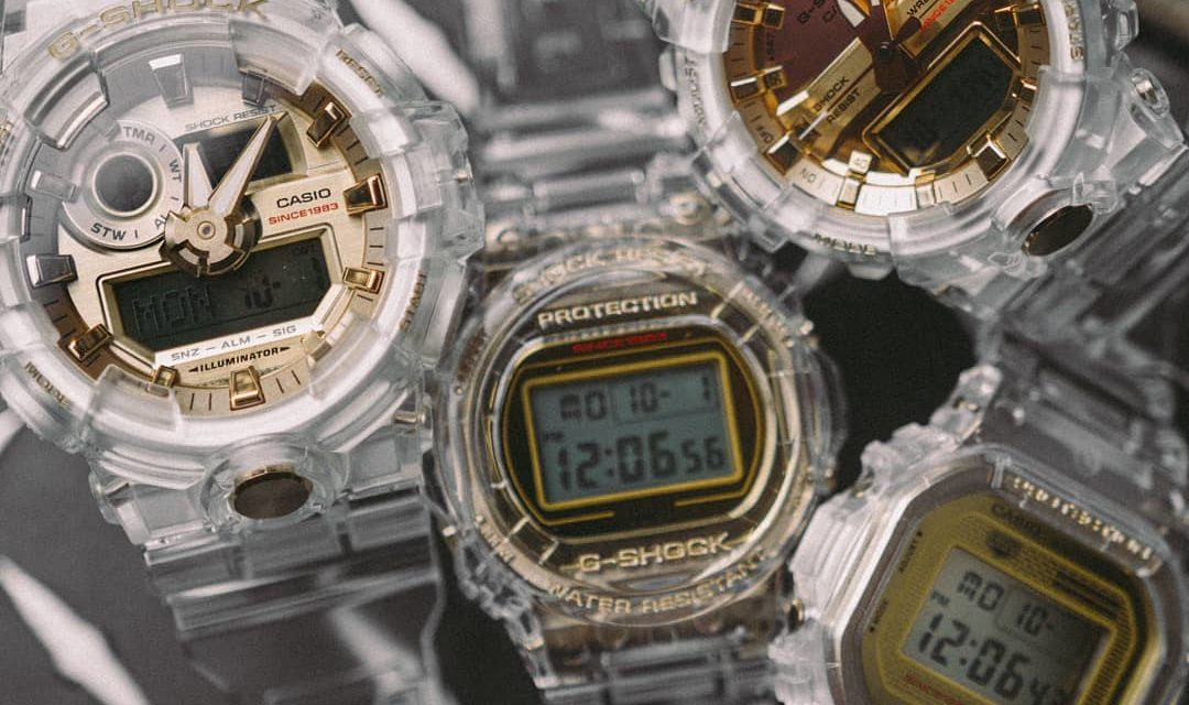 [Live Photos] G-Shock Glacier Gold Collection for 35 Anniversary